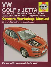 vw golf and jetta petrol and diesel service and repair manual