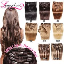 best type of hair extensions 2016 best selling remy hair 100 clip in human hair