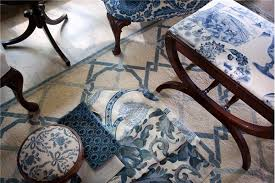Porcelain Blue Rug 10 Chic Martha U0027s Vineyard Blue And White Interiors With Blue Rugs