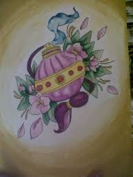 perfume bottle tattoo art and designs page 5