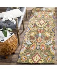 Safavieh Blossom Rug Great Deals On Safavieh Handmade Blossom Green Multicolored Wool