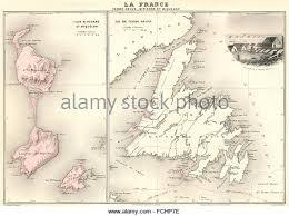 map of st and miquelon st et miquelon stock photos st et miquelon stock