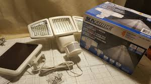Solar Lantern Lights Costco - costco sunforce triple head solar motion activated light review