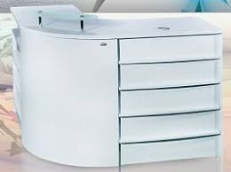 Salon Reception Desk White Get Best White Reception Desk To Enhance Your Business Potential