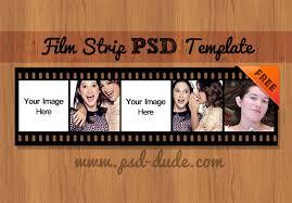 film strip vector psd free template psddude framing