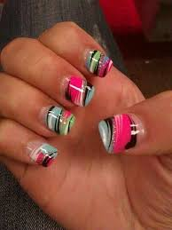 cool acrylic nail designs how you can do it at home pictures