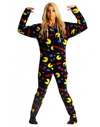 pac hooded footie pajamas for adults