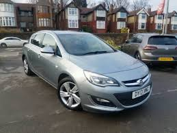 2013 vauxhall astra 1 6 sri manual 5 door hatchback facelift grey
