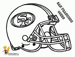 coloring pages cool 49ers coloring pages nfl doodles pinterest