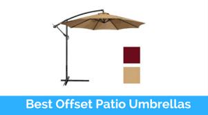 Best Offset Patio Umbrella Top 10 Best Offset Patio Umbrellas In 2018 Reviews