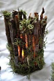 tree branch candle holder diy ideas with twigs or tree branches hative