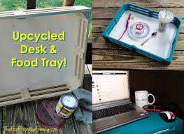 Diy Lap Desk Upcycled Laptop Desk U0026 Food Tray The Eco Friendly Family