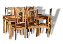 Jali Dining Table And Chairs Jali Sheesham Dining Table And Chairs