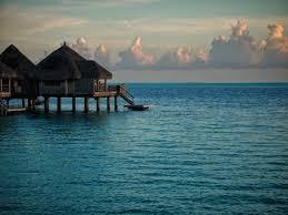 society6 bora bora overwater bungalow deirdre saoirse moen