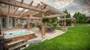 Covered Patio Designs Design Ideas Backyard Arbor And Attached by Pergola Round Pergola Designs Wonderful Covered Pergola Plans