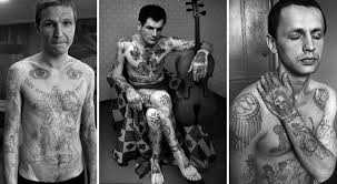 the secret meanings of russian prison tattoos russian prison