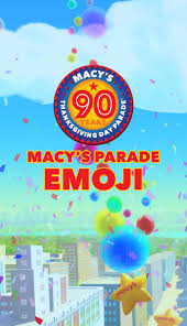 macy s thanksgiving day parade time traveler and emojis app