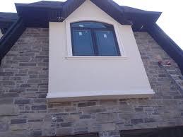 toronto exterior stucco moulding repair painting parging