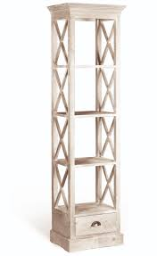 narrow bookcase home library u2014 strawbridge