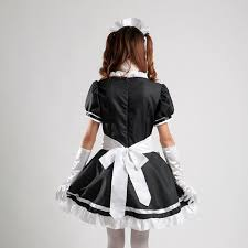 halloween costume maid amazon com coconeen anime cosplay costume french maid