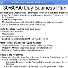 30 60 90 sales plan template 30 60 90 day sales plan template90