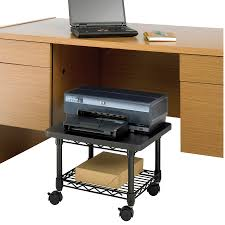 under desk printer fax stand safco products