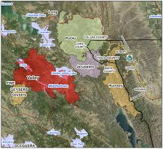 California Wildfires Rocky Fire by Usda California Agencies Offer Post Fire Assistance Assessments