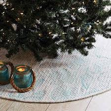 arielle beach christmas tree skirt the weed patch