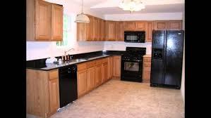 Black Appliances Kitchen Ideas Countertops Backsplash Brass Kitchen Faucet Black Quartz