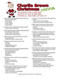 christmas trivia games christmas trivia charlie brown christmas