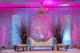 indian wedding decorators in nj reception in mountain lakes nj indian wedding by ksd weddings