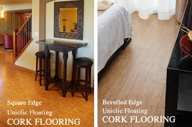 dining room stylish cork flooring tiles floor forna basement decor
