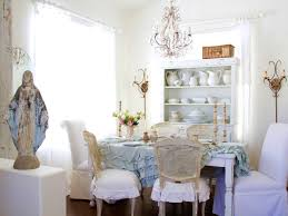 furniture fascinating shabby chic dining room table and chairs