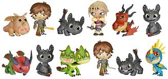 2014 funko train dragon 2 mystery minis