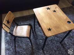 petit bureau ecolier bureau pupitre en bois pour enfant bureau occasion vintage