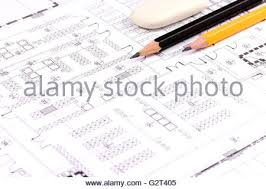 House Building Calculator Drawing Compass Calculator Pencil And Architectural Drawings Of
