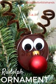 reindeer ornament for easy christmas craft activity