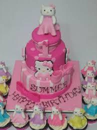 3tier hello kitty cake cake by connie u0027s cakery cakesdecor