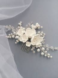 bridal hair combs best 25 wedding hair combs ideas on wedding hair
