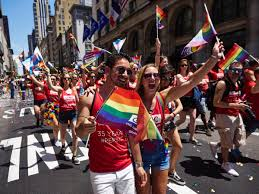 Chelsea Parade New Yorkers Hit Streets Louder Than Ever To March In Pride Parade