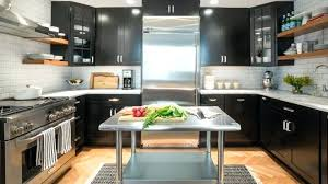 off white kitchen cabinets with stainless appliances black cabinets in kitchen image of distressed black kitchen cabinets