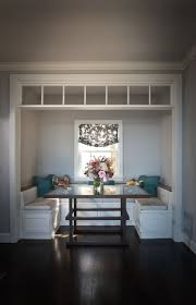 Dining Table With Banquette 38 Best Bench Seating U0026 Storage Images On Pinterest Kitchen