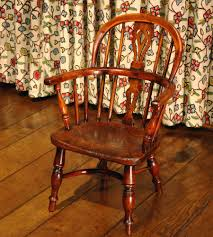 Antique English Windsor Chairs Antique Childs Windsor Chair Yew Wood C 1820 To C 1850 English