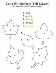 leaf shapes graph worksheet teaching math pinterest