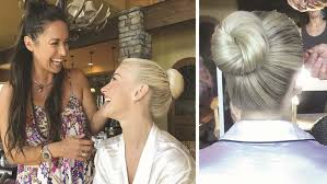 julianne hough hairstyles riwana capri get the bridal blonde look julianne hough s sparkling new do by