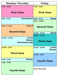 country report template middle school our daily schedule country day school