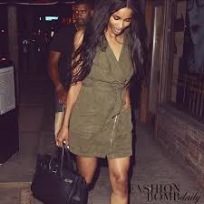 steal ciara u0027s russell wilson date night topshop olive green army
