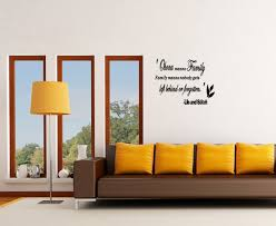 Wall Art Stickers And Decals by Ohana Means Family Vinyl Wall Art Sticker Decal Quote Saying