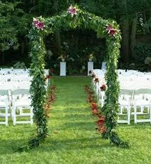 wedding arch leaves outdoor wedding arch outdoor weddings
