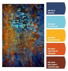 paint colors from chip it based on kaffe fassett fabric color